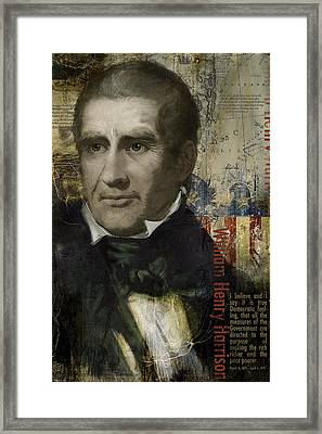 William Henry Harrison Framed Print