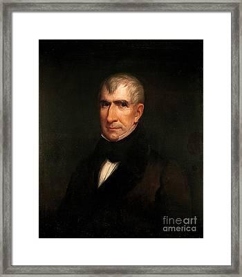 William Henry Harrison Framed Print