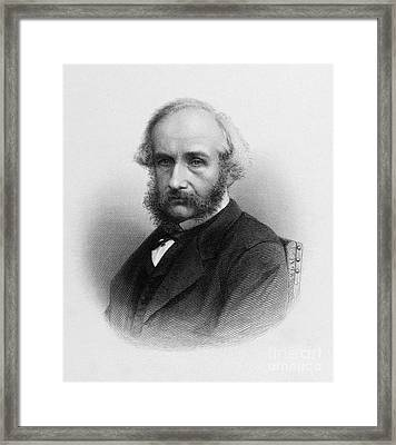 William Henry Harvey, Irish Botanist Framed Print by Middle Temple Library