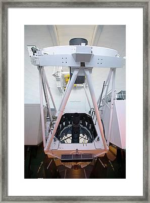 William Herschel Telescope Framed Print by Adam Hart-davis/science Photo Library