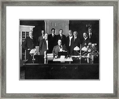 William Howard Taft (1857-1930) Framed Print
