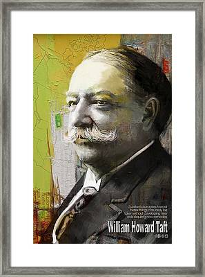 William Howard Taft Framed Print by Corporate Art Task Force