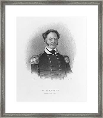 William Hudson Framed Print by British Library