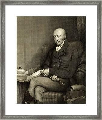 William Hyde Wollaston, British Chemist Framed Print