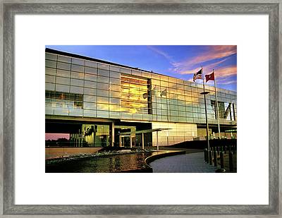William Jefferson Clinton Presidential Library Framed Print