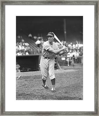 William M. Billy Werber Framed Print by Retro Images Archive