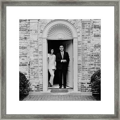 William Mccormick Blair Jr. And Deeda Blair Framed Print by Horst P. Horst