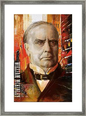 William Mckinley Framed Print