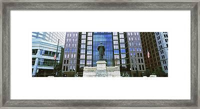 William Mckinley Statue, Capitol Framed Print