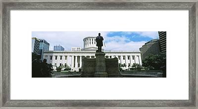 William Mckinley Statue, Ohio Framed Print