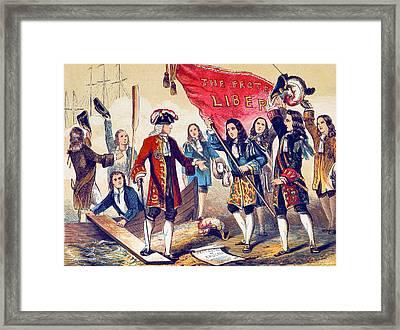 William Of Orange, Revolution Of 1688 Framed Print