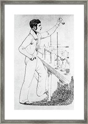 William O'shaughnessy Framed Print by National Library Of Medicine