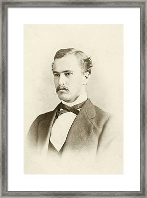 William Osler As A Medical Student Framed Print