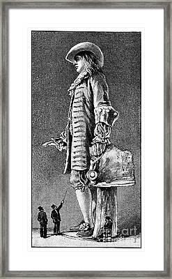 William Penn Statue, 19th Century Framed Print by Spl