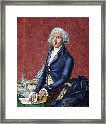 William Pitt (london 1708-hayes, 1778 Framed Print
