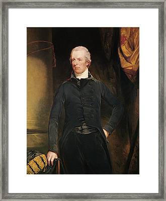 William Pitt The Younger 1759-1806 Oil On Canvas Framed Print