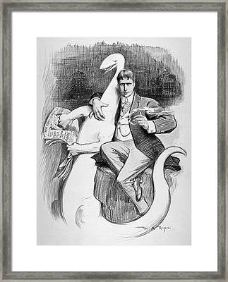 William Randoph Hearst (1863-1951) Framed Print