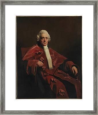 William Robertson 1753-1835, Lord Framed Print by Sir Henry Raeburn