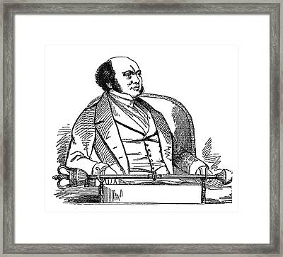 William Rowan Hamilton (1805-1865) Framed Print by Granger