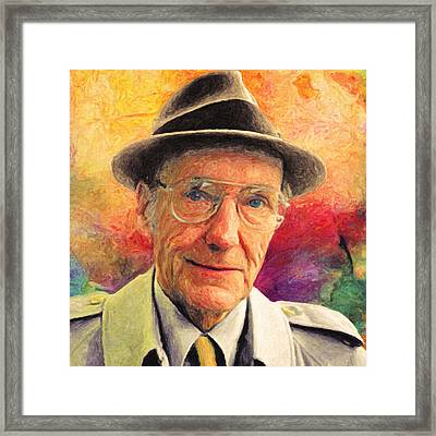 William S. Burroughs Framed Print