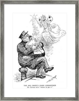 William S Framed Print by Granger