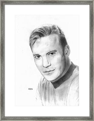 William Shatner - Capt. Kirk Framed Print