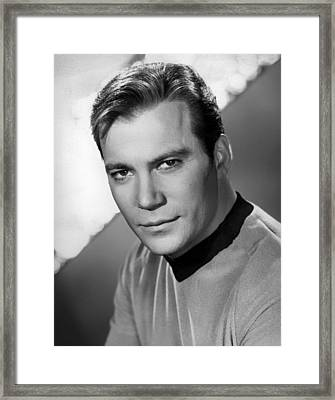 William Shatner Framed Print by Mountain Dreams