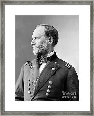 William Tecumseh Sherman Framed Print