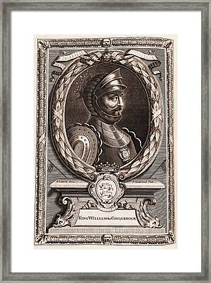 William The Conqueror Framed Print