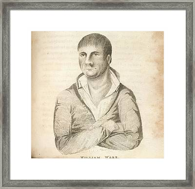 William Warr Framed Print by British Library