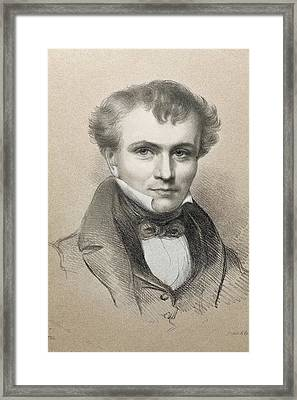 William Whewell Framed Print by Paul D Stewart