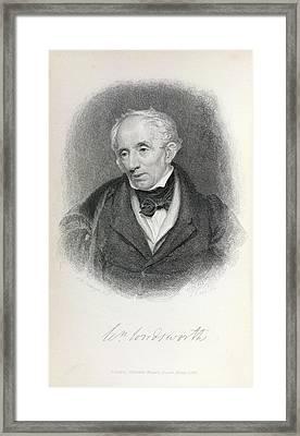 William Wordsworth Framed Print