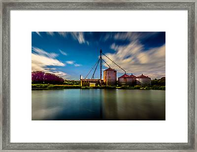 Williams Feed Mill Framed Print