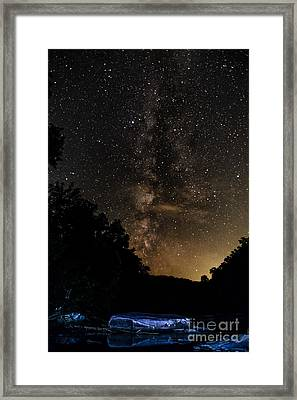 Williams River Milky Way Framed Print