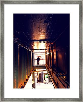 Williamsburg - Brooklyn - Hewes Street Overpass Framed Print by Vivienne Gucwa