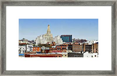 Williamsburg Savings Bank In Downtown Brooklyn Ny Framed Print