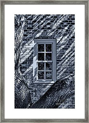 Framed Print featuring the photograph Williamsburg Window by Nigel Fletcher-Jones