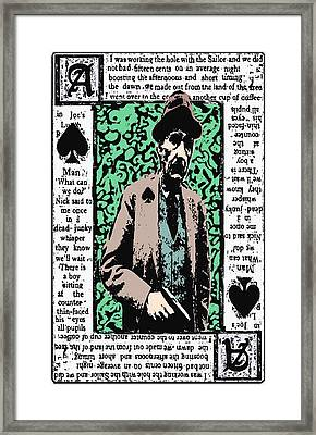 William.s.burroughs. Framed Print