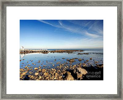 Williamstown Beach Framed Print by Yew Kwang