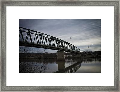 Williamstown Bridge Framed Print