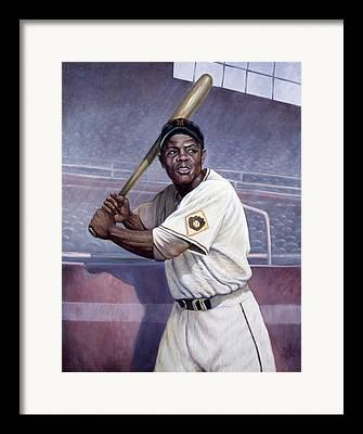 New York Baseball Parks Paintings Framed Prints