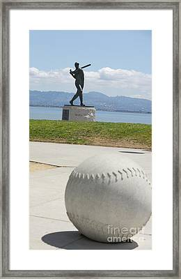 Willie Mccovey -- Giants 2014 World Champs Framed Print