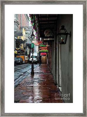 Willies Framed Print by John Rizzuto