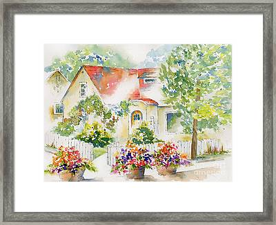 Willingdon Place Framed Print by Pat Katz