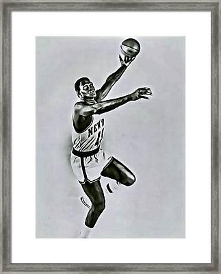 Willis Reed Framed Print