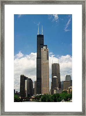 Willis Tower Aka Sears Tower Framed Print