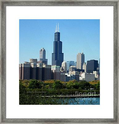 Willis Tower Framed Print
