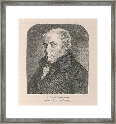 Willliam Smith Framed Print by British Library