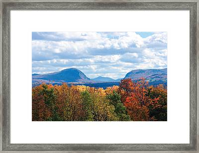 Willoughby Lake Vermont Framed Print by William Alexander