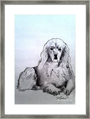 Willow 2 Framed Print by Laurrie Lloyd